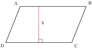 aire d'un parallélogramme
