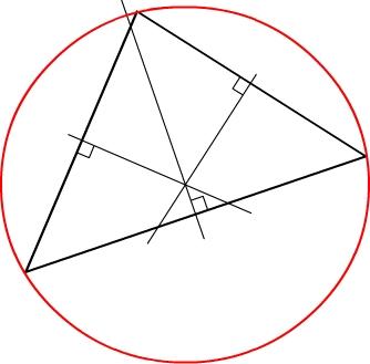 Cercle circonscrit à un triangle