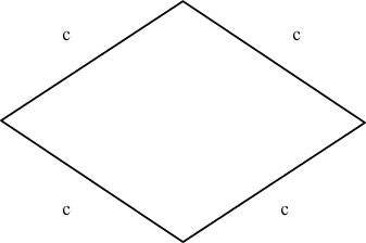 formule pour l'aire d'un losange