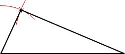 tracer un triangle étape 4