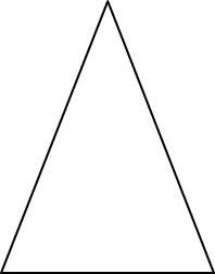 triangle isocele